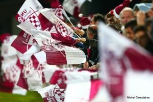Drapeaux de supporters - UBB