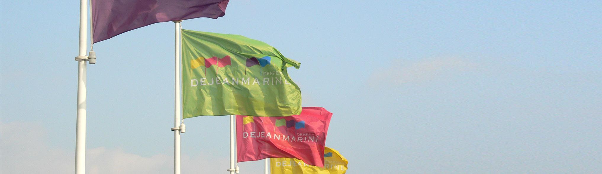 Drapeaux Dejean Marine est un fabricant de pavillons professionnels dans la région de Bordeaux