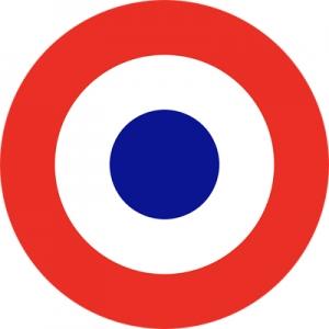 le drapeau français et la cocarde