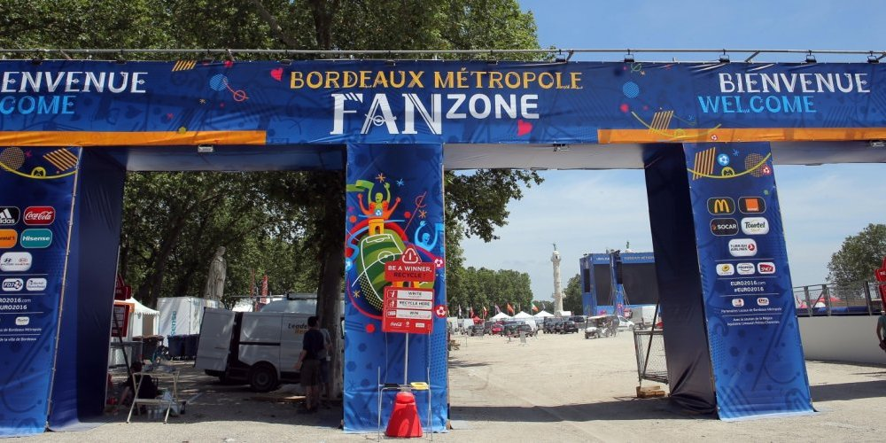 Fan zone bordeaux football
