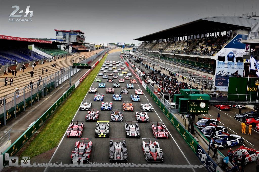 24h du Mans photo officielle