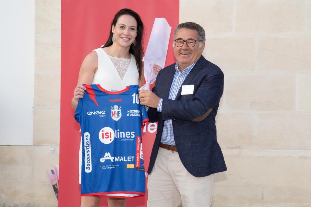 Derrien Fiona et Arnaud de Leissègues, partenaire