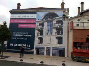 Habillage de façade réalisé par DDM