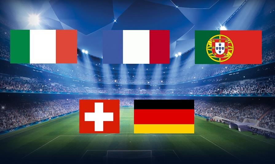 Euro 2016: l'histoire des drapeaux de cinq pays