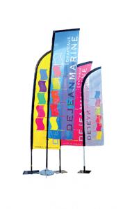 Dejean Drapeaux, fabricant de beach-flags
