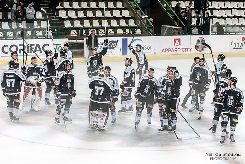 Partenaire du club de Hockey sur glace Les Boxers de Bordeaux