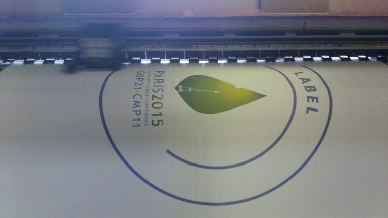 Fabricant de drapeaux personnalisés pour COP 21