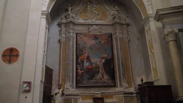 Panneau en tissu Saint Nicolas de Myre