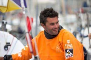 Portrait d'Alexis Loison, skipper de la Solitaire Urgo Le Figaro 2017