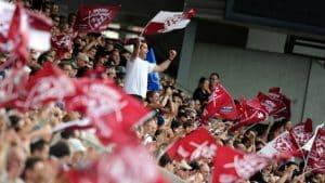 Drapeaux de supporters rugby