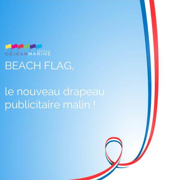 beachflag drapeau publicitaire dejean drapeaux