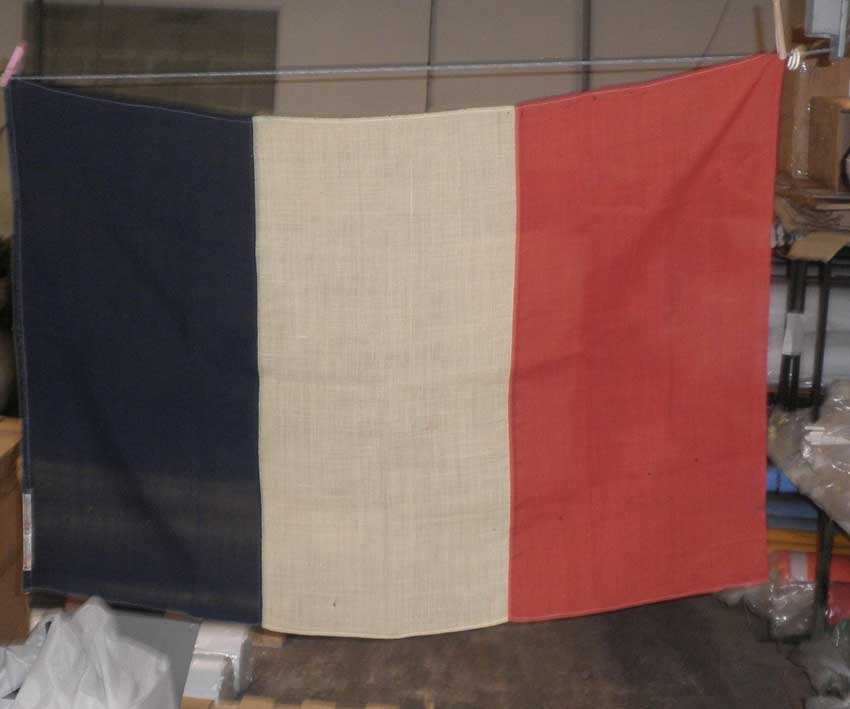 Un drapeau français historique