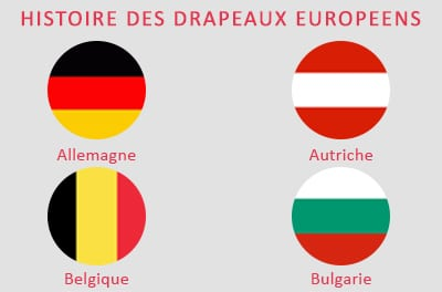 La signification des drapeaux de l'Union Européenne (de A à B)