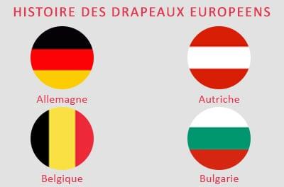 signification des drapeaux pays union europeenne histoire et origine