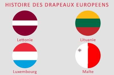 Significations des drapeaux pays union europenne de L à M dejean drapeaux
