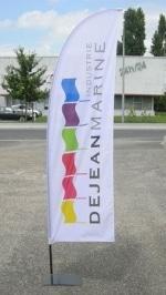 Dejean Marine, fabricant de beach flag classique