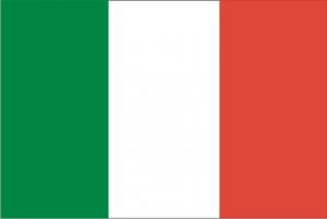drapeau de l'italie dejean drapeaux