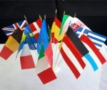 Drapeau de table officiel - Europe