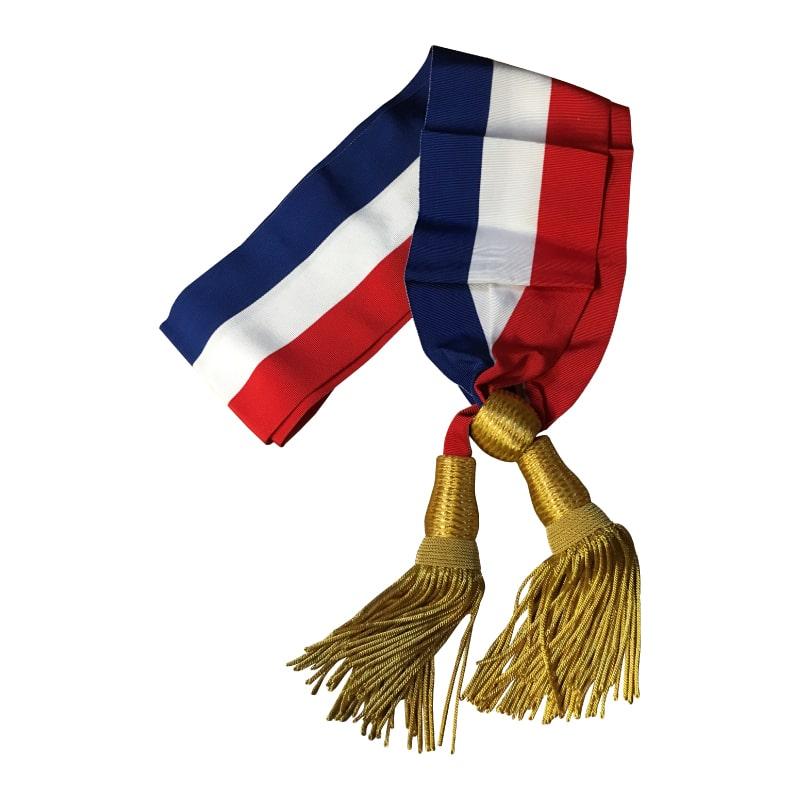 Écharpe de maire   Drapeaux Dejean Marine, fabricant à Bordeaux 68ef802ddd3