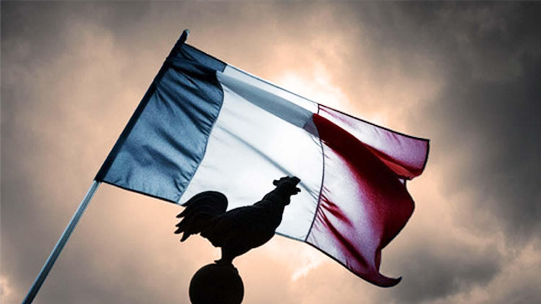 drapeau français coq