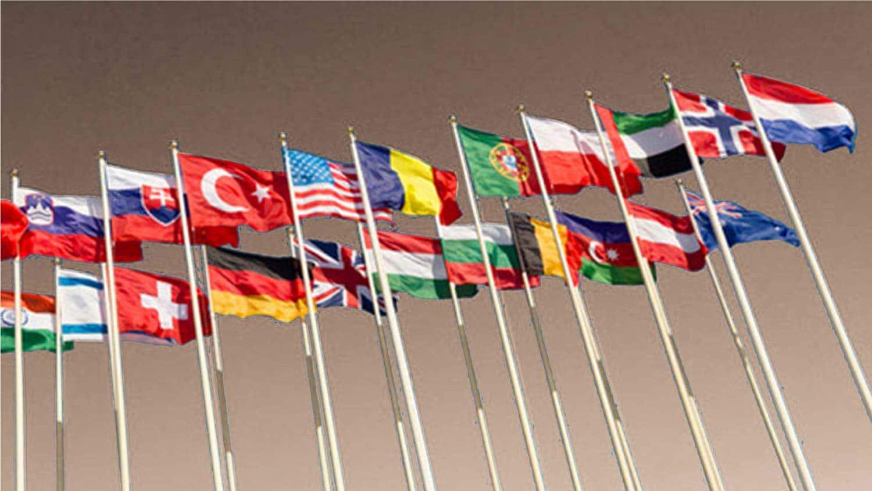 drapeaux pour mâts