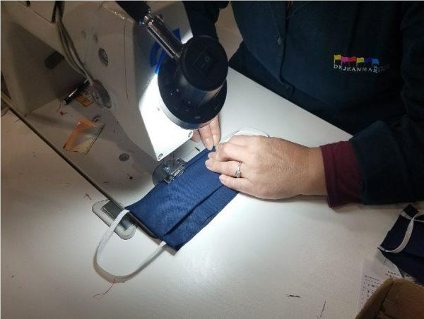 fabrication masque tissu