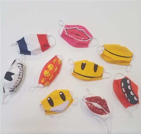 masque barrière fantaisie