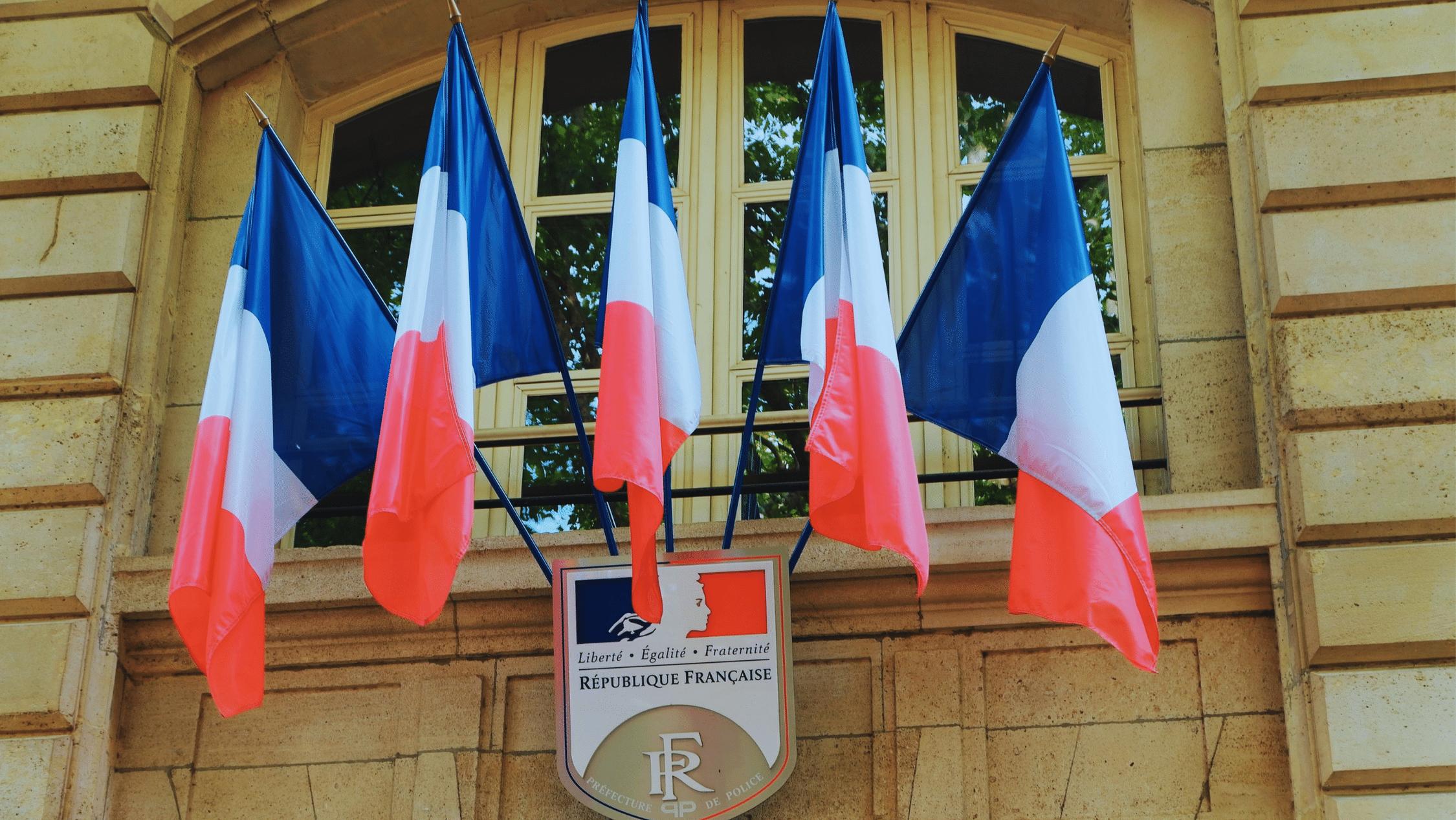 drapeaux france officiels